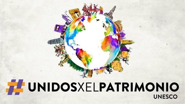 Animación para la campaña UnidosxElPatrimonio. Unesco