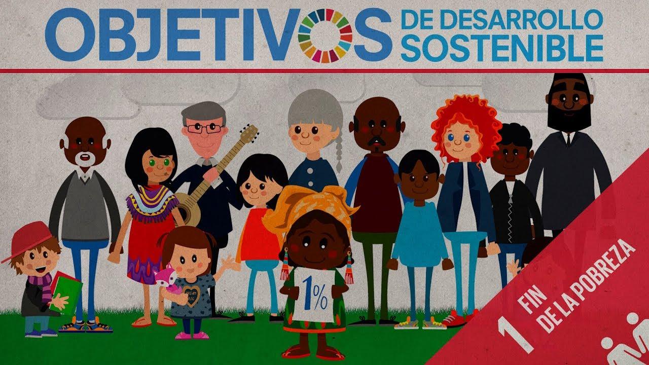ODS 1 · Fin de la pobreza · Objetivos de Desarrollo Sostenible