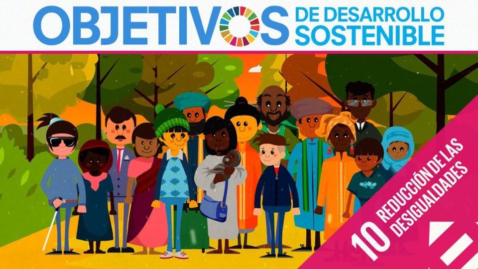 ODS 10 · Reducción de las desigualdades · Objetivos de Desarrollo Sostenible
