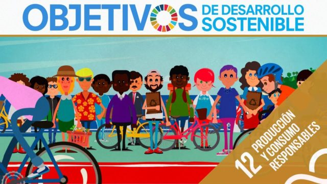 ODS 12 · Producción y Consumo responsables · Objetivos de Desarrollo Sostenible