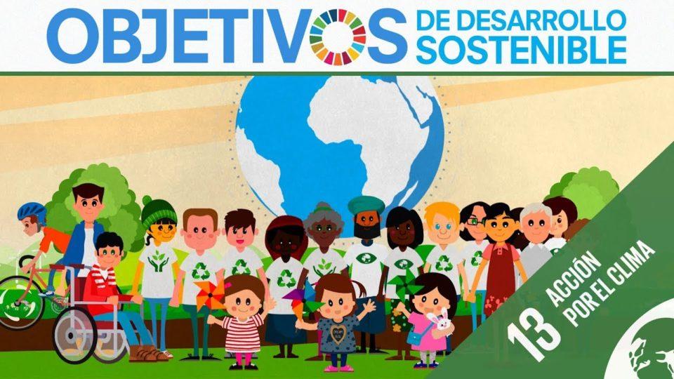 ODS 13 · Acción por el clima · Objetivos de Desarrollo Sostenible