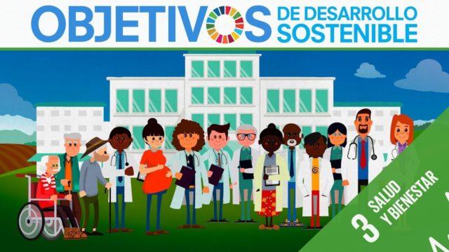 ODS 3 · Salud y bienestar · Objetivos de Desarrollo Sostenible